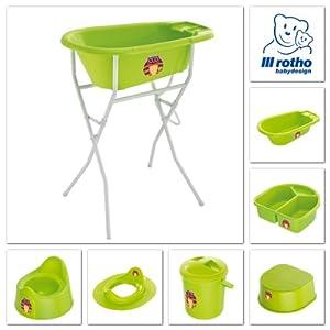 Rotho bebé Diseño 200060205AS BB cuenca del búho, verde manzana - BebeHogar.com