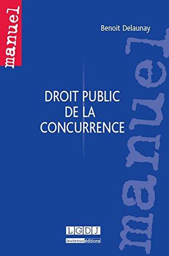 Droit public de la concurrence