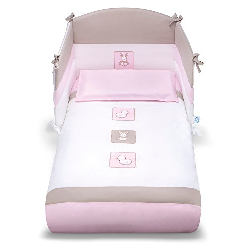 Pali 06871551143 Tommy Set Letto Sfilabile, Rosa