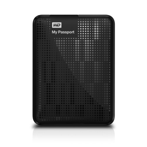 WD My Passport 500GB Portable External Hard Drive Storage USB 3.0 Black (WDBKXH5000ABK-NESN)