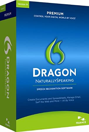 Dragon NaturallySpeaking Premium 11, [Old Version]