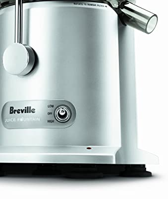 Breville RM-JE98XL Certified Remanufactured Juice Fountain Plus 850-Watt Juice Extractor from Breville ( Refurbished)