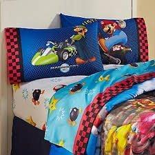 Nintendo Boy's Super Mario Reversible Pillowcase - 1