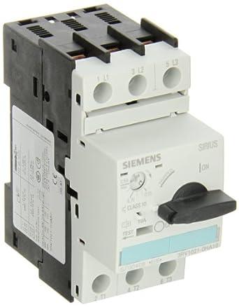 Siemens 3rv1021 0ha10 Manual Starter And Enclosure Open