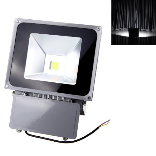 Kkmoon 70W 110-250V Led Spot Light Ip65 Waterproof Outdoor Flood Light Lamp Warm White For Christmas Party,Large Lawns And Landscaped Areas, Signs,Billboards, Building Murals, Statues, And Flags