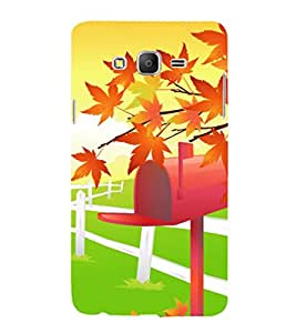 printtech Nature Animated Back Case Cover for Samsung Galaxy On7