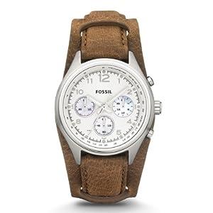 Fossil Damen-Armbanduhr Sport Analog Leder CH2795