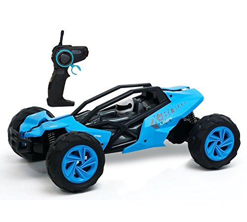 KidiRace - Remote Control Car - Racing Buggy - Blue - Fun and Easy To Control (Battery For Car Control Remote compare prices)
