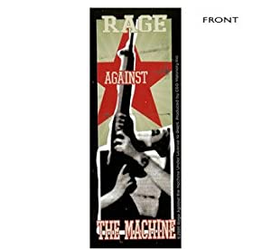 Rage Against The Machine - Gun Sticker