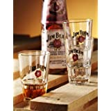 original Jim Beam Glser 2er Set Special Edition Exclusiv Glasvon &#34;American Shop&#34;