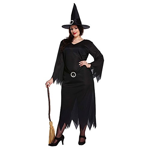 Halloween Women's Plus Size Witch Fancy Dress Costume
