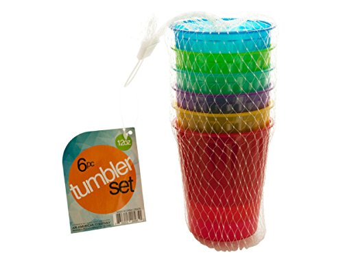 handy helpers Bulk Buys Plastic Tumbler Set, Small