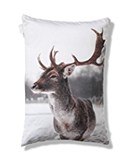 Stag Print Cushion