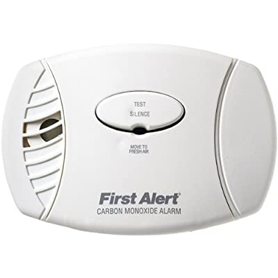 First Alert CO605 Carbon Monoxide Plug-In Alarm with Battery Backup, 3 Pack from First Alert