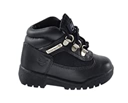 Timberland Baby Toddlers Field Boots Black 15806 (4 M US)