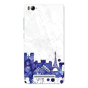 Mobile Back Cover For Xiaomi Mi 4i (Printed Designer Case)