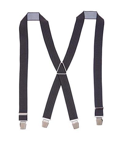 Ortiz & Reed Tirantes Black Elastic Braces Negro