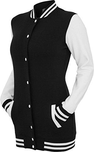 Urban Classics -  Giacca  - Donna Multicoloured - Black / white small
