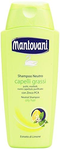 Mantovani - Shampoo Neutro, Capelli Grassi - 400 Ml