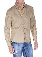 Giorgio Di Mare Camisa Hombre Lino (Beige)