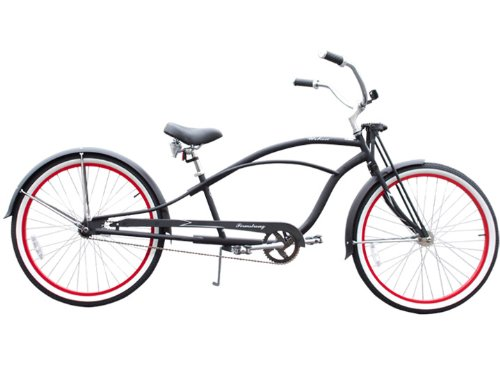 Urban Man Deluxe Stretch Cruiser Bike Single Speed 26