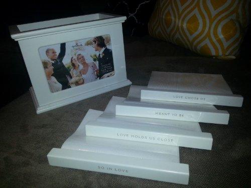 Hallmark Wedding FRT8212 Wedding Wooden Photo Box