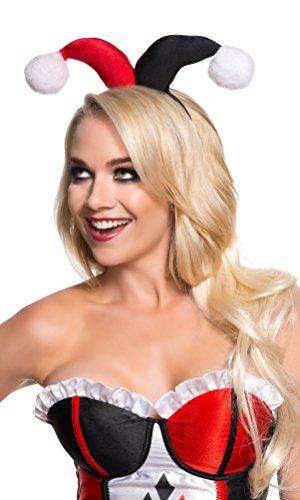 Rubie' s ufficiale Harley Quinn fascia Accessori, Costume da adulto