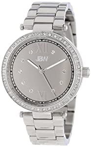 JBW Women's J6274A Stainless Steel Mirror Dial Diamond Watch