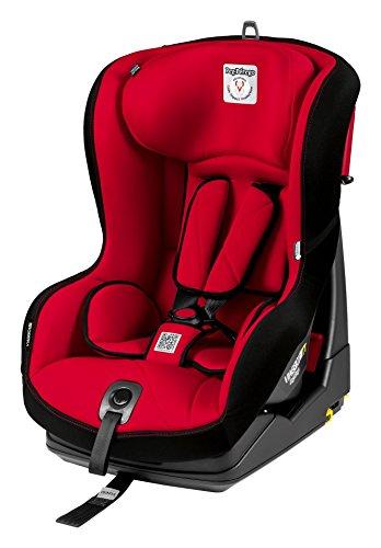 PEG PEREGO Seggiolino Auto Viaggio 1 Duo-Fix K TT (9-18 Kg) Isofix Rosso Rouge