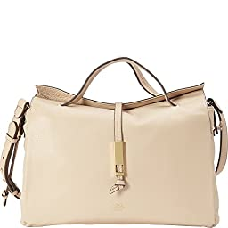 Vince Camuto Reed Satchel Shoulder Bag, Rich Cream, One Size