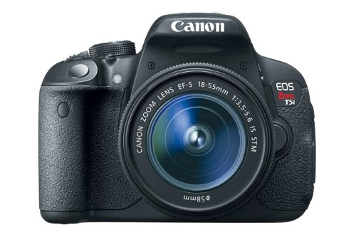 41Hu%2BchJhTL Canon EOS Rebel T5i 18.0 MP CMOS Digital SLR with 18 55mm EF S IS STM Lens