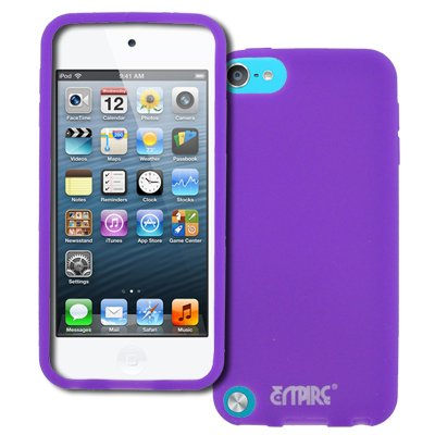 EMPIRE Lila / Violett Silikon Tasche Hülle for Apple iPod Touch 5 Silikon Tasche Hülle