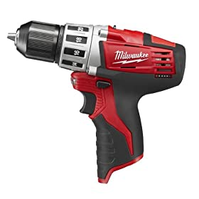 Bare-Tool Milwaukee 2410-20 M12 12-Volt 3/8-Inch Drill/Driver (Tool Only, No Battery)