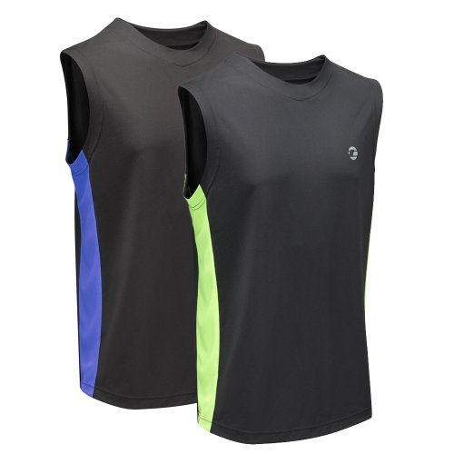 Tenn Mens Sports Vest - Breathable and High-Wicking