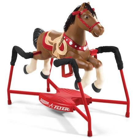 Radio Flyer Blaze Interactive Spring Horse Ride-On Meet Blaze, the Next Best thing to a Real Horse