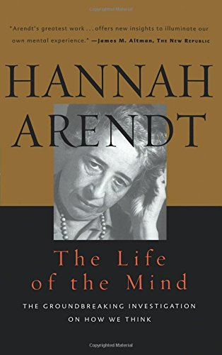 Life of the Mind: One/Thinking, Two/Willing: Vols 1&2 (Combined 2 Volumes in 1)