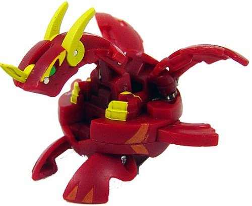 Buy Low Price Spin Master Bakugan Battle Brawlers B2 Vestroia Bakuneon LOOSE Figure Pyrus Red VOLTA (B0020LUO44)