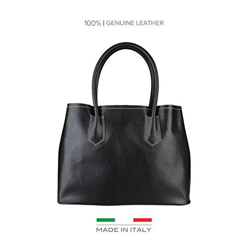 Made In Italia Bags, Borsa a spalla donna nero nero