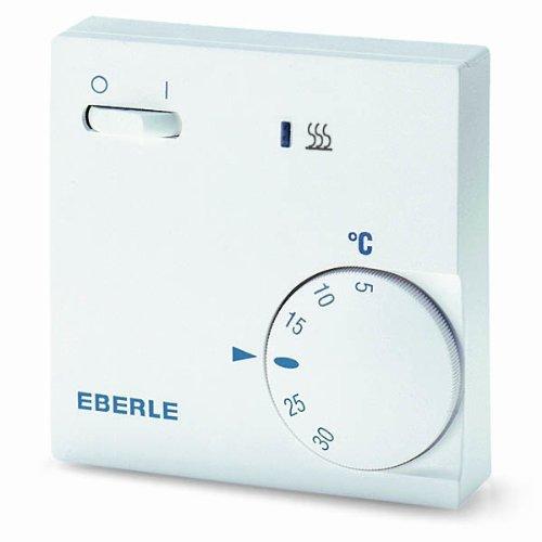 EBERLE-111110451100-Eberle-RTR-E-6202-Raumtemperaturregler-mit-Netzschalter-Ein-Aus-und-LED-Heizen
