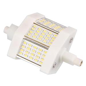 R7s 78 mm 60 3014 SMD LED Bombilla 6W Luz Blanco Cálido Regulable   Comentarios y descripción más