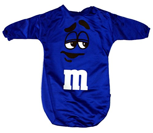 M&M's Blue Candy Baby Bunting Costume