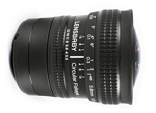 Lensbaby 魚眼レンズ サーキュラーフィッシュアイ 5.8mm F3.5 マイクロフォーサーズマウント マイクロフォーサーズ対応 859773