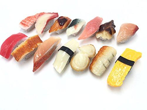食品サンプル お寿司 14個セット リアルな出来 豊富なバリエーション