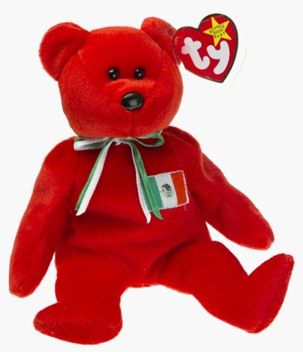 Osito the Mexican Bear - Ty Beanie Baby (USA Exclusive) by TY Warner/Disney - 1