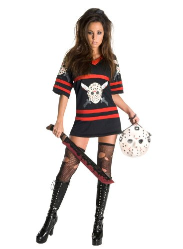 Sexy Miss Jason Voorhees Friday The 13Th Costume - Medium