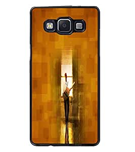 PrintDhaba Music D-4425 Back Case Cover for SAMSUNG GALAXY A5 (Multi-Coloured)