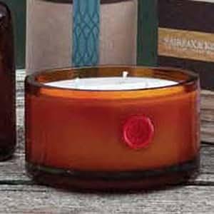 Found Goods Market 3 Wick 8 oz Glass Candle Monticello Pomegranate