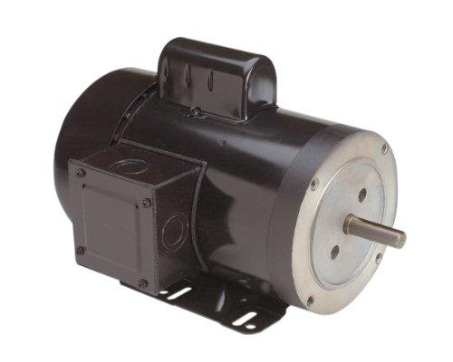 Century C830 Cap Start C-Face, 56C Frame, 1-HP, 1800-RPM, 115/208-230-Volt, 15-Amp, Ball Bearing Motor 230v 15 Amp