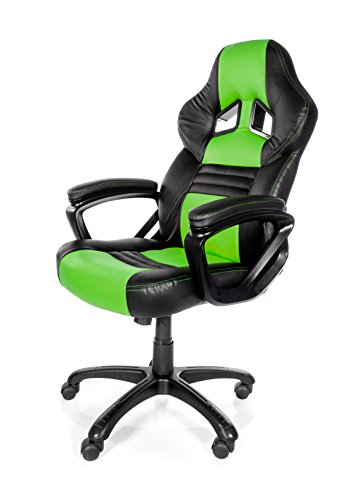 Arozzi-Monza-Series-Gaming-Racing-Style-Swivel-Chair-RedBlack