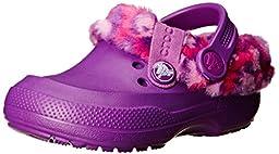 crocs 16014 Blitzen II Animal Prt Clog (Toddler/Little Kid),Amethyst/Candy Pink,1 M US Little Kid